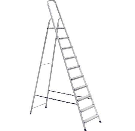 Лестницы Алюмет изготовлены из качественных материалов, благодаря чему имеют длительный срок эксплуатации