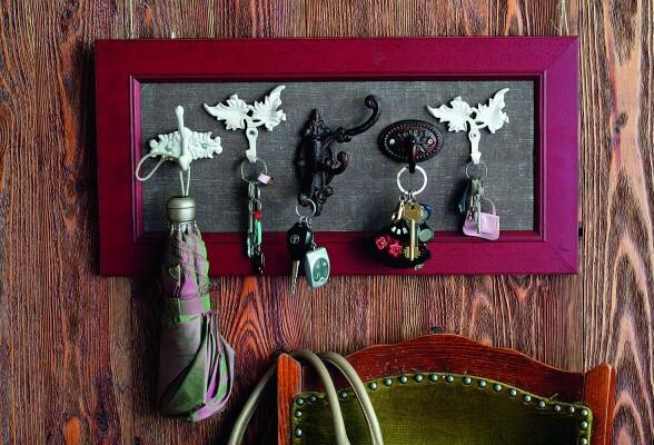 Ключница позволяет не тратить время на поиск ключей по всему дому