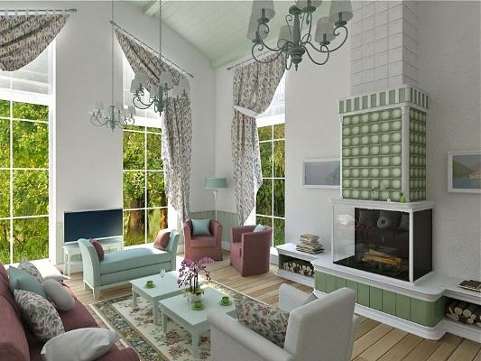 Оформление комнаты в стиле прованс – это отличный способ сделать гостиную необычной, уютной и красивой