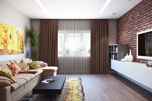 Гостиная – главная комната в доме, поэтому ее оформлению следует уделять особое внимание