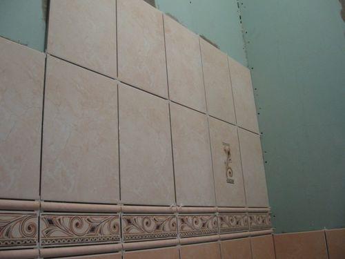 Плитка на гипсокартоне в ванной комнате – это не только красиво, но и практично
