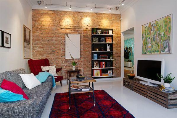 Маленькая гостиная вполне может стать уютной комнатой, если правильно подобрать дизайн помещения
