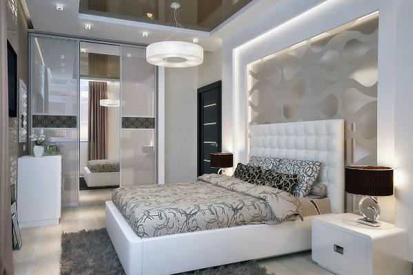На сегодняшний день дизайнеры рекомендуют оформлять спальню в стиле модерн