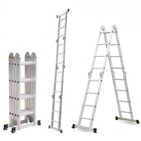 Качественная лестница-трансформер позволит быстрее справиться с ремонтными работами