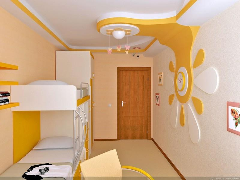 К оформлению детской комнаты предъявляются особые требования. Гипсокартон - экологически чистый материал