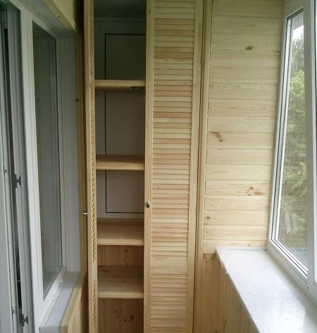 как красиво сделать шкаф на балконе фото дизайн своими руками и