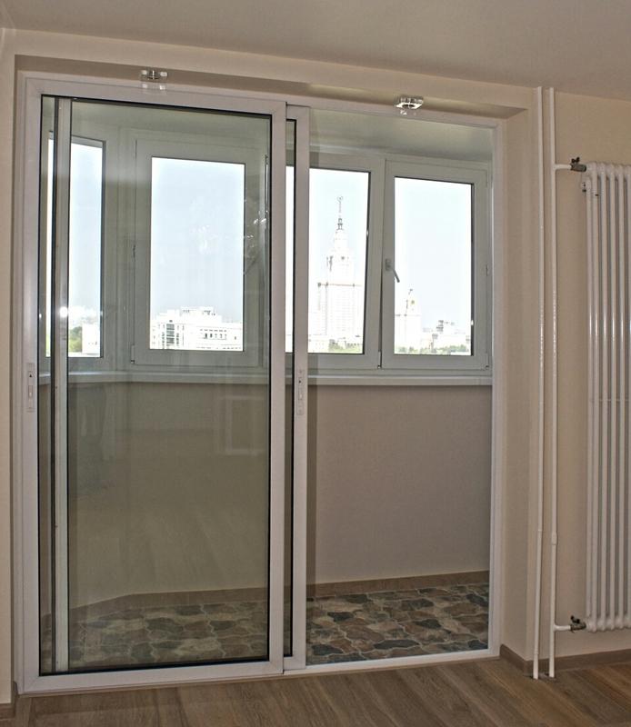 балкон раздвижной