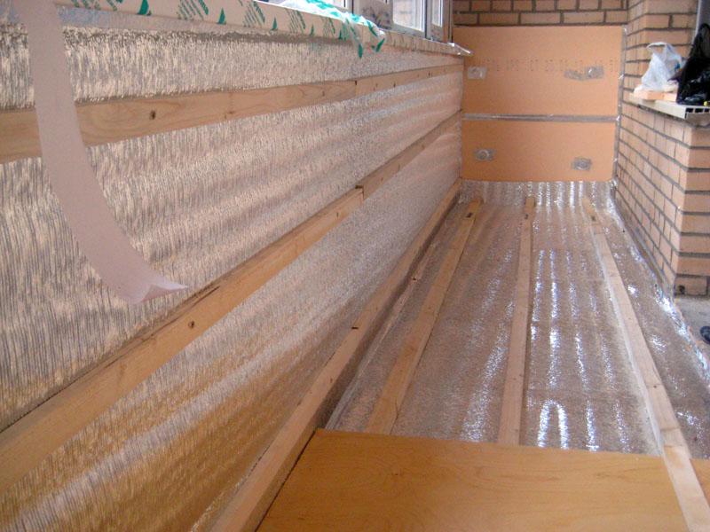 Утепление балкона своими руками пошаговая инструкция фото фото 916