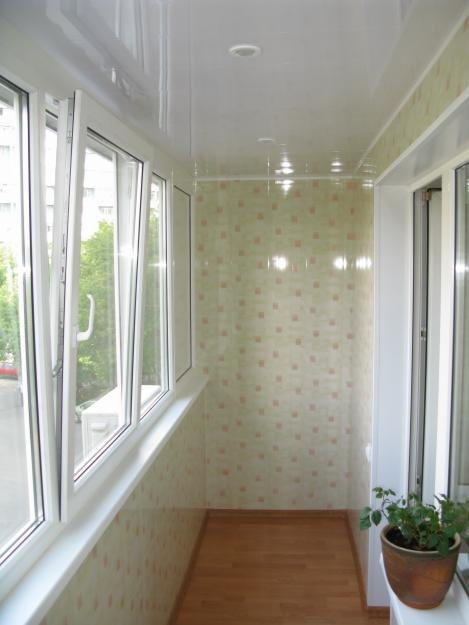 Внутренняя отделка балкона пластиковыми панелями - отличное решение