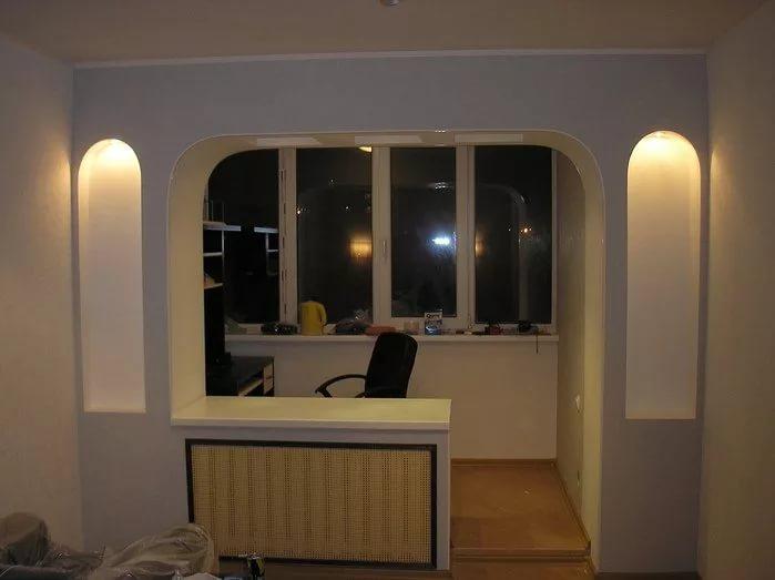 Утепленную лоджию можно гармонично соединить с жилой комнатой