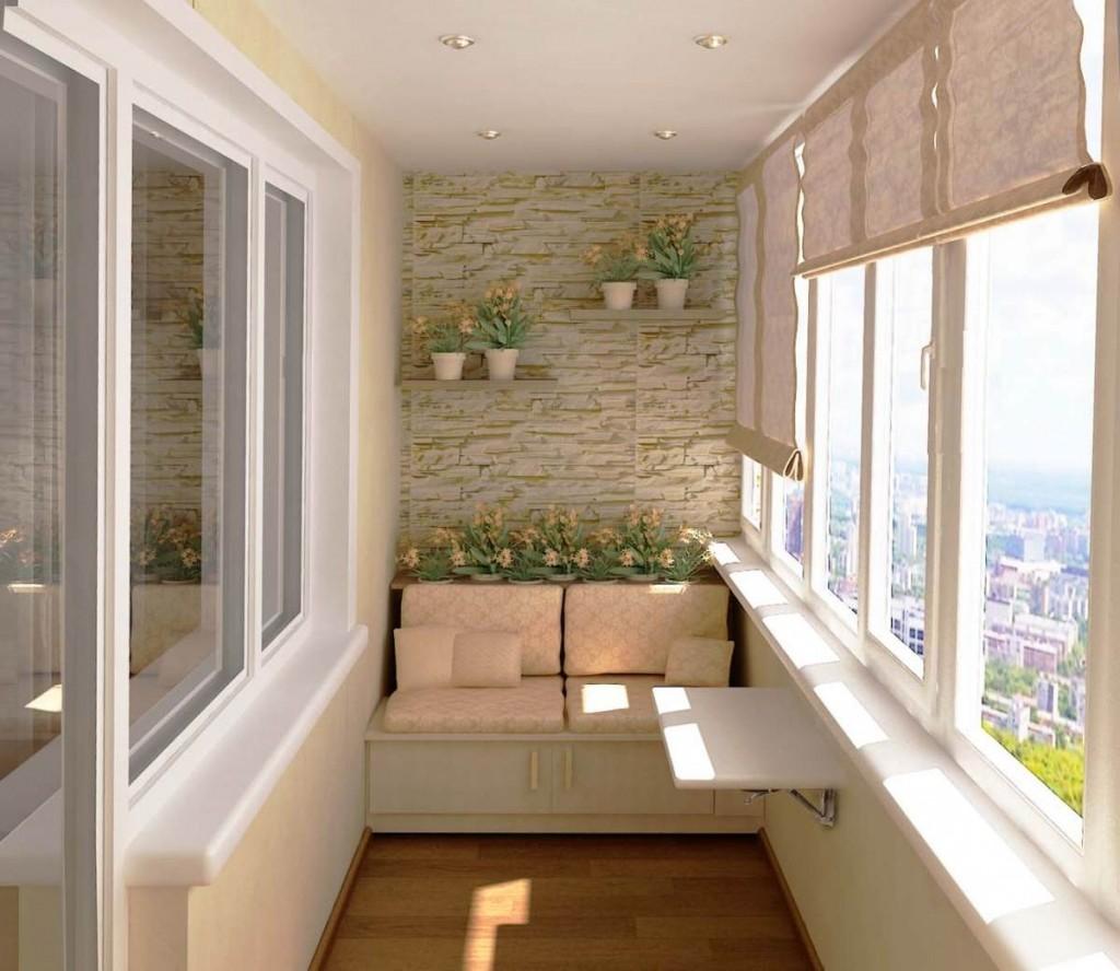 Балконы и лоджии при правильном подходе имеют большой потенциал применения