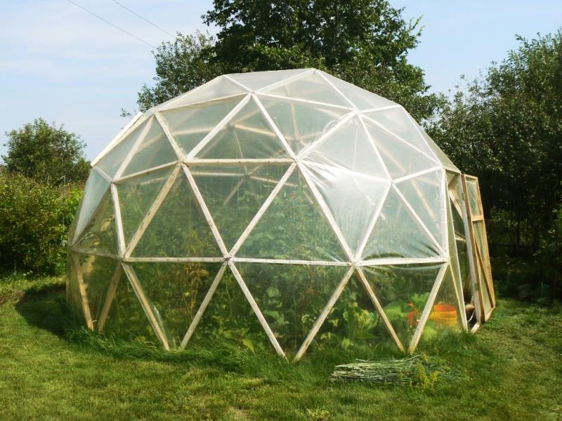 Современные геокупола – красивые и максимально практичные сооружения