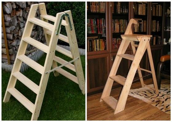 Изготовить лестницу-стремянку несложно и можно самостоятельно, главное — грамотно подойти к этому процессу и ознакомиться со всеми нюансами