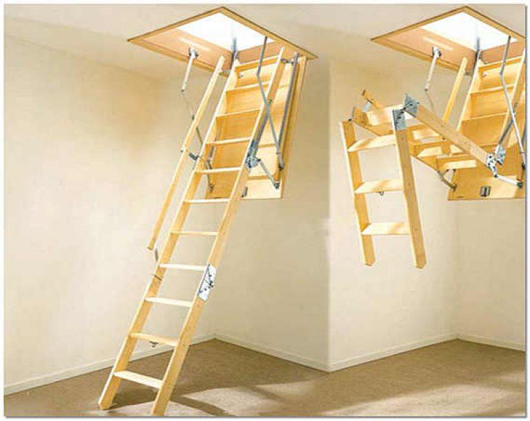Выдвижная лестница на чердак пользуется огромной популярностью