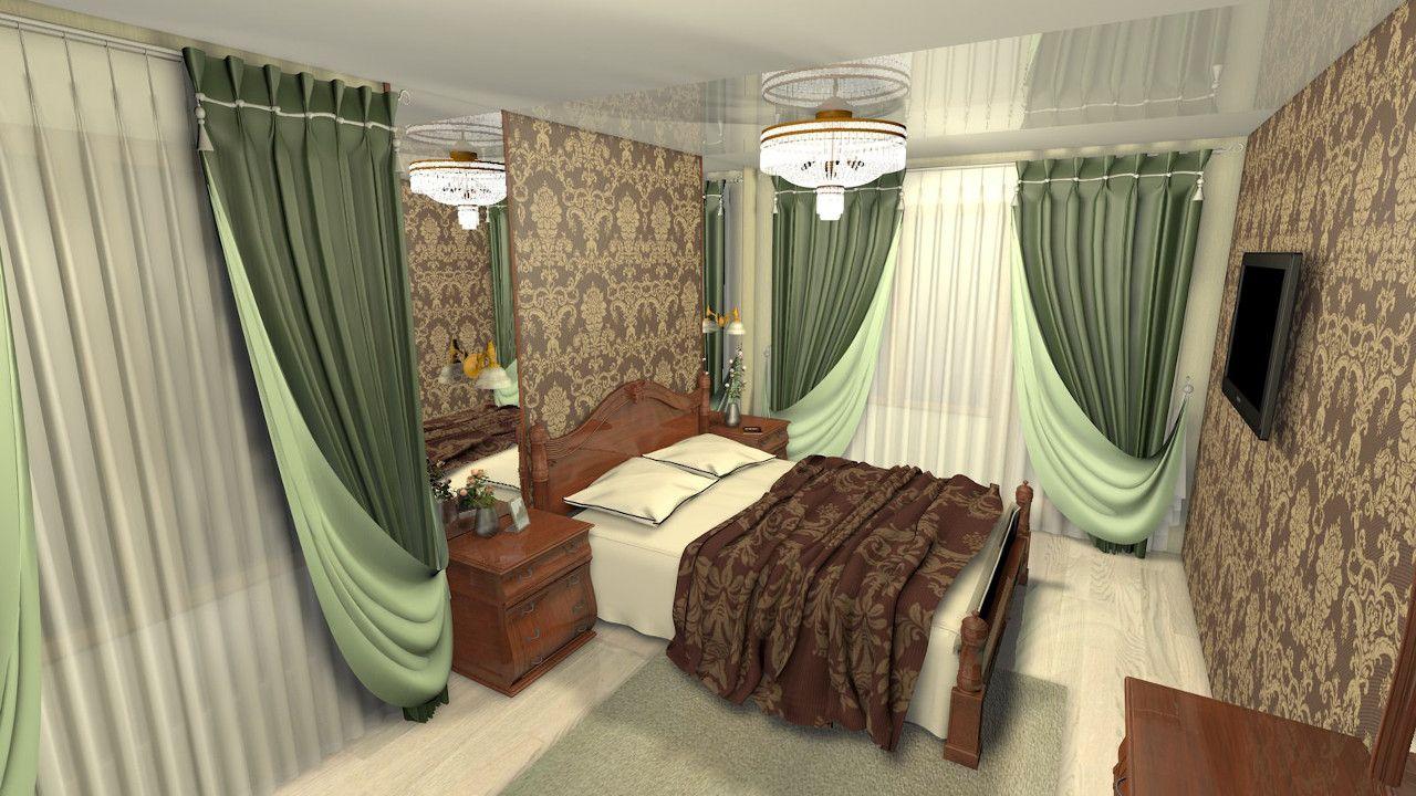 Шторы являются неотъемлемой частью декорирования комнат