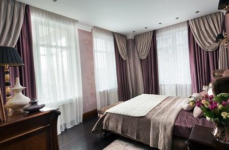 Благодаря шторам можно существенно улучшить эстетические качества любого помещения