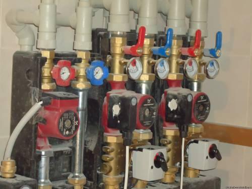 Сервопривод является важной частью напольного отопления