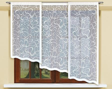 На маленькие окна не рекомендуется вешать слишком большие шторы