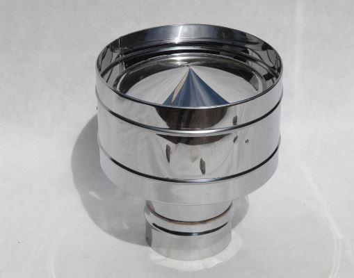 Одной из самых необходимых деталей на дымоход является дефлектор