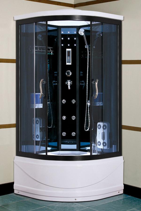 Душевая кабина – удобное сооружение, которое позволяет экономить пространство в маленькой ванной комнате