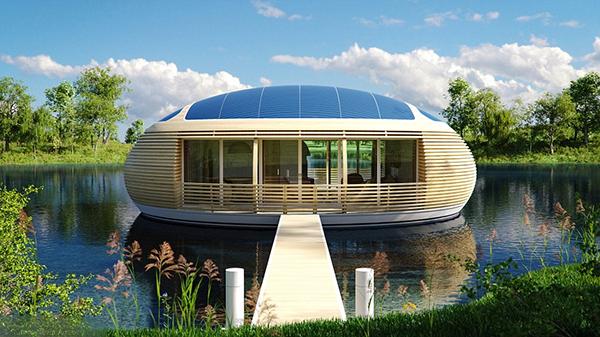 Экологичный дом абсолютно безвреден для человека