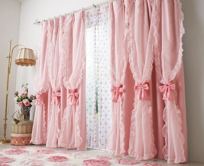 Шторы в стиле шебби шик сделают любой интерьер современным, модным и романтичным