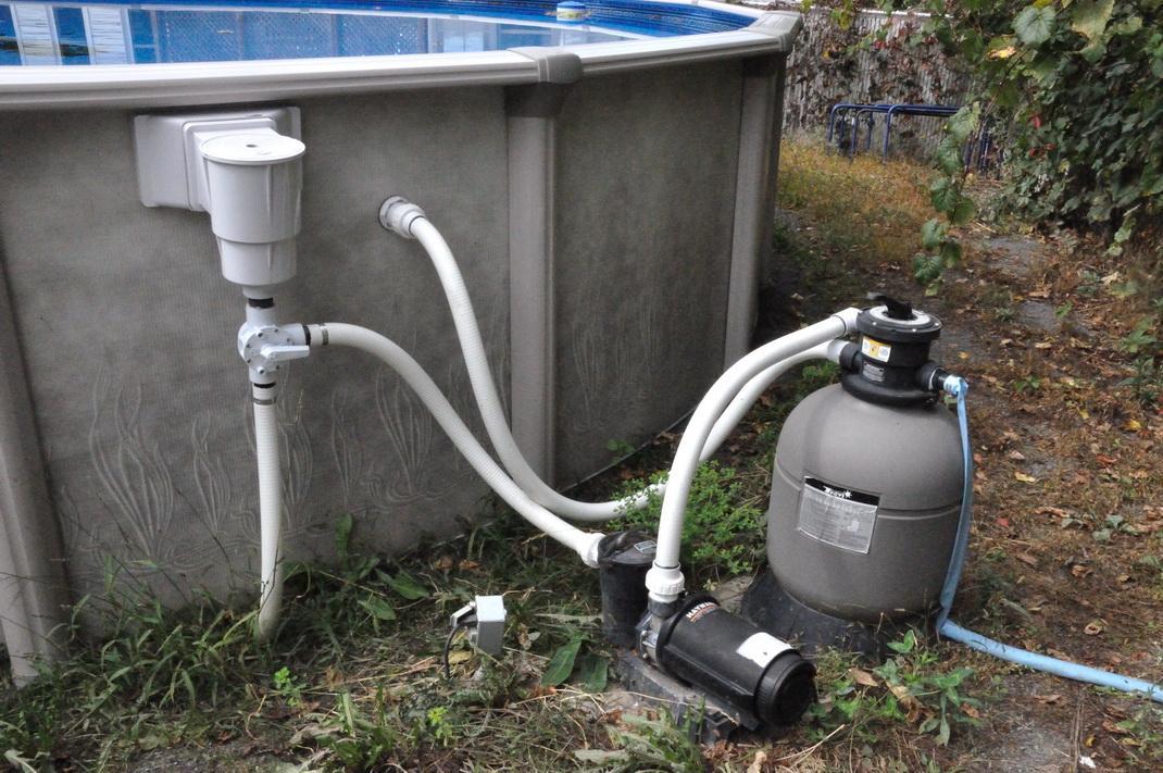Правильно подобранный фильтр позволяет поддерживать чистоту воды в бассейне