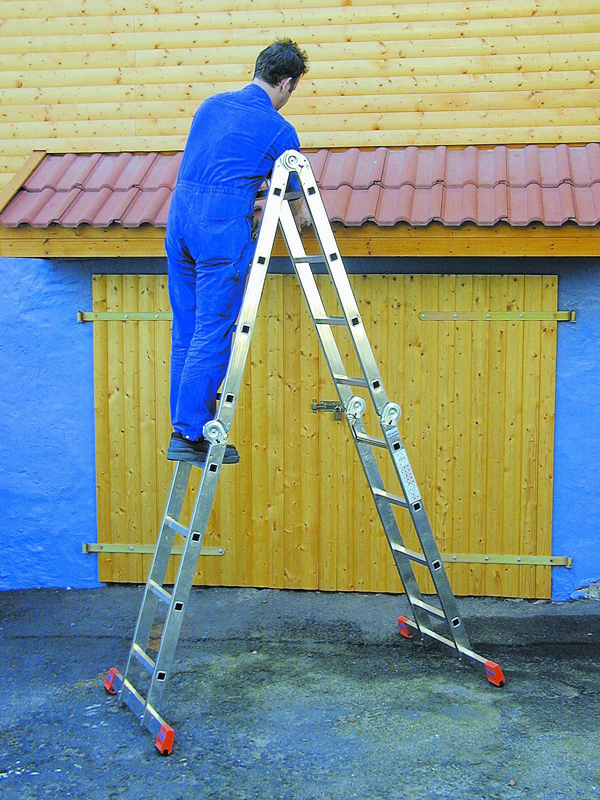 Выбрав алюминиевую стремянку или лестницу, вы будете гарантированно пользоваться ею много лет