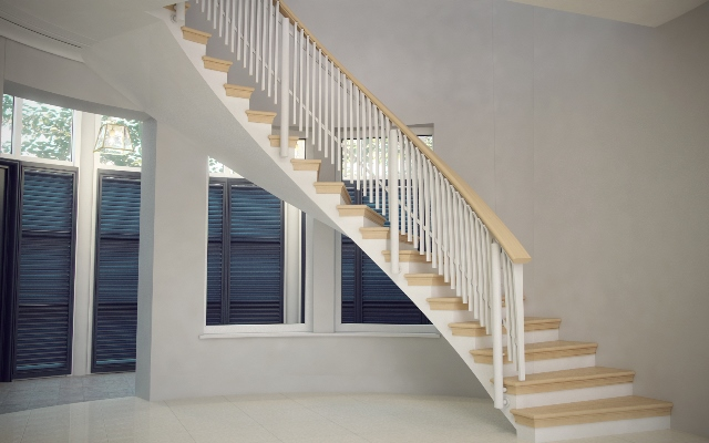 При изготовлении и установке лестницы особое внимание следует уделять выбору стиля конструкции