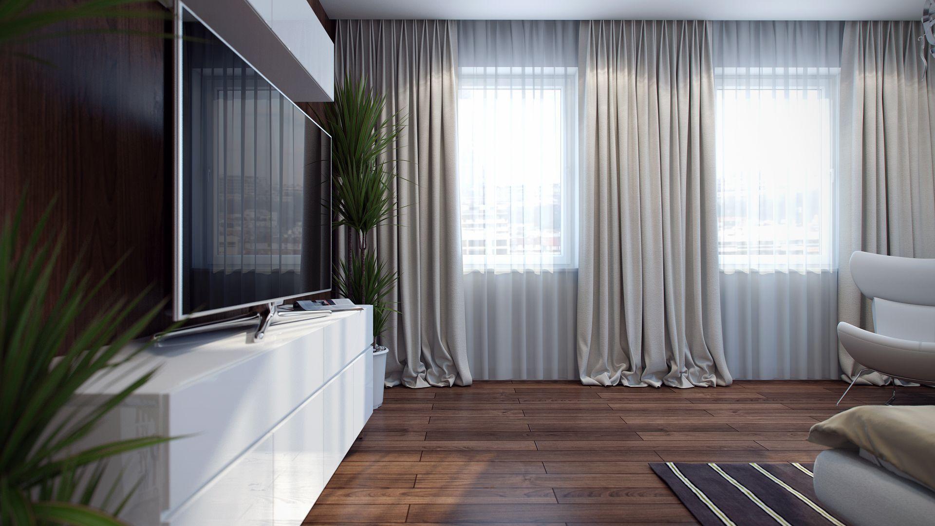 Правильно подобранные шторы помогут подчеркнуть дизайн комнаты