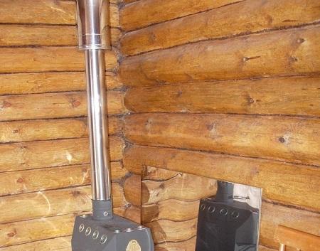 Трубы для дымохода могут отличаться по размеру и материалу, из которого они выполнены