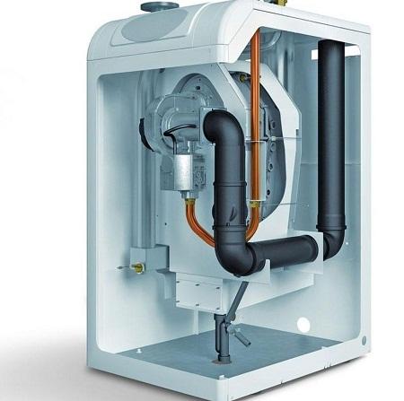Двухконтурный газовый котел отлично подходит для обогрева дачного дома