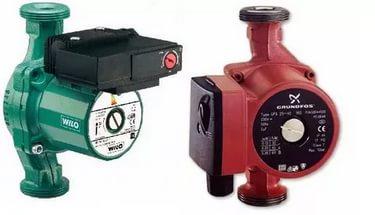 Насос для отопления используют для того, чтобы система обогрева работала максимально эффективно