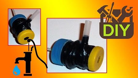 Все материалы для водяного насоса можно купить на барахолке или в специализированном магазине
