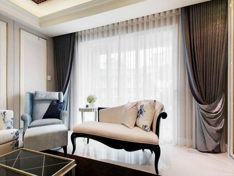 Дизайн штор для гостиной -  очень важный момент