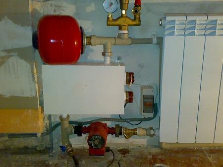 Электрическое отопление подходит как для маленьких, так и больших домов