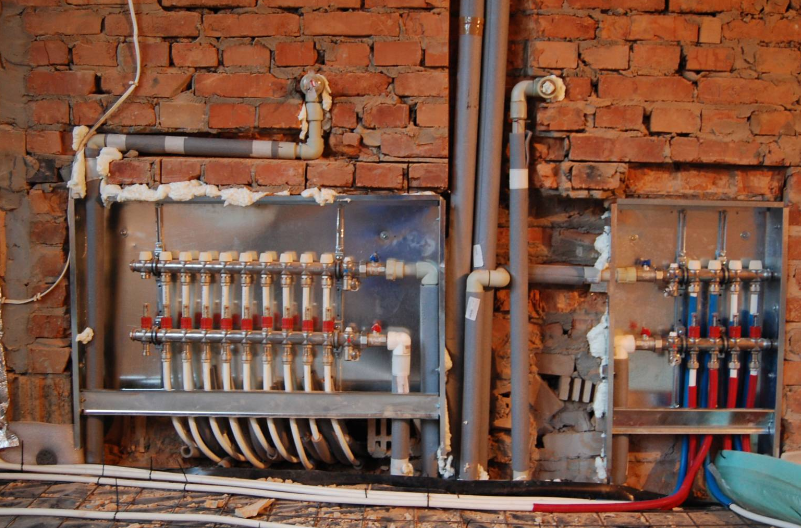 Гребенка отопления позволяет использовать систему трубопровода максимально эффективно