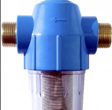Фильтр грубой очистки воды не способен идеально очистить воду, однако он хорошо собирает крупные загрязнения