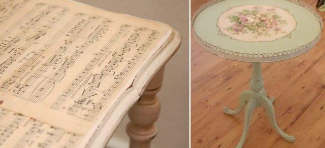 Реставрация стола своими руками (фото).