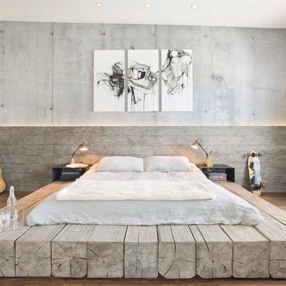 Деревянные кровати из поддонов