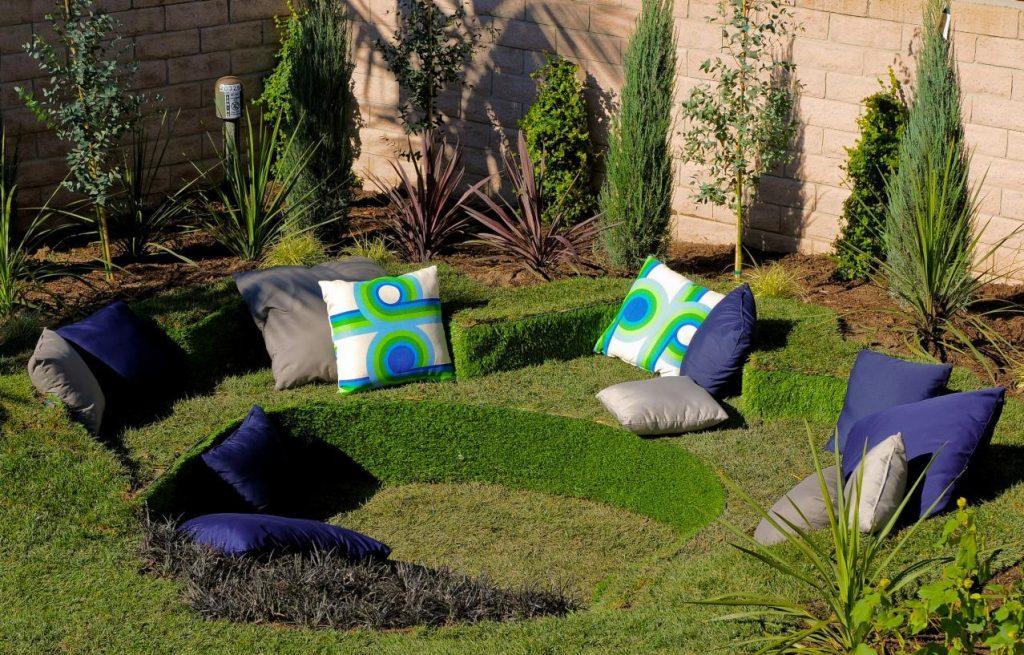 Зелёный уголок для отдыха
