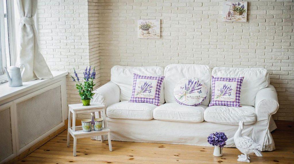 фото диван в стиле прованс