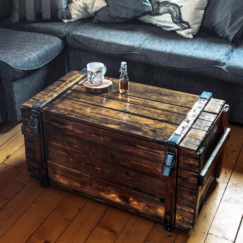 сундук столик