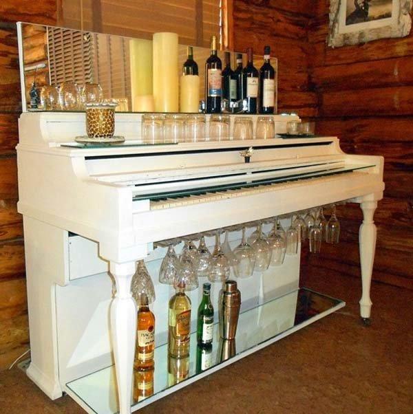 барная стойка из пианино