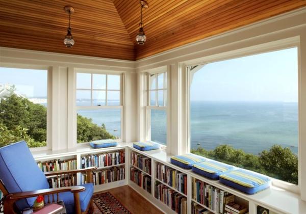 подоконник панорамного окна