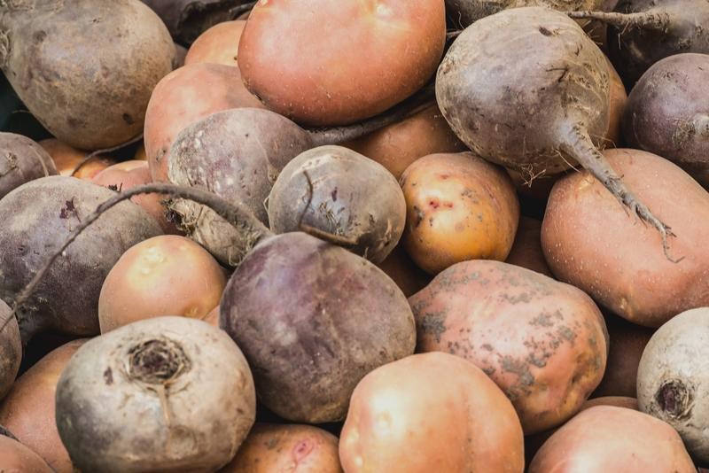 Картошка и свёкла