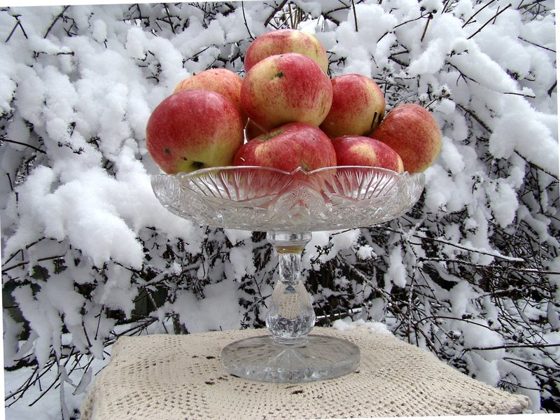 Яблоки для зимнего потребления