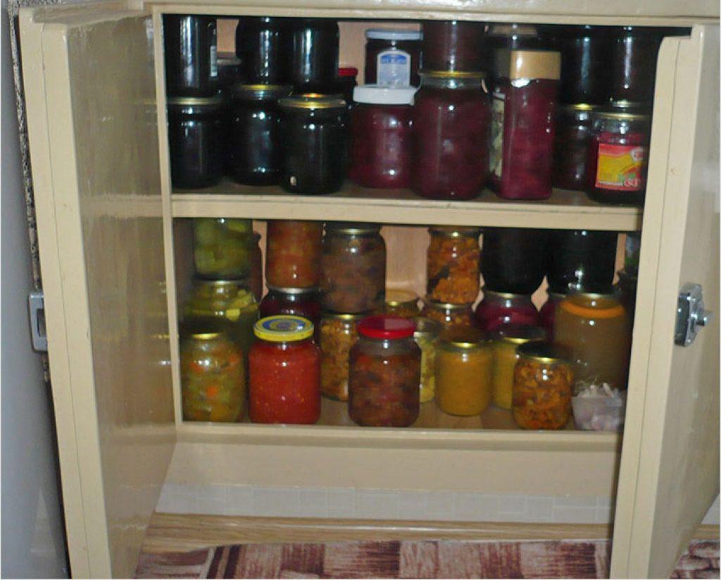 Заготовки в холодильнике