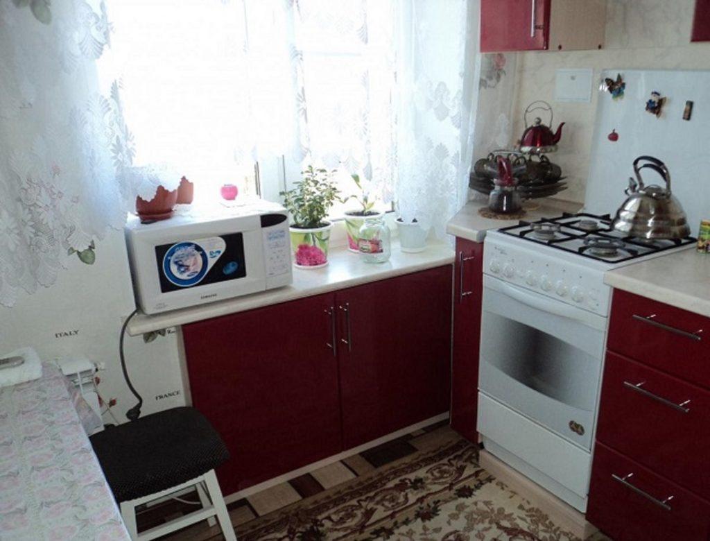 Оформление дверей под кухонный гарнитур