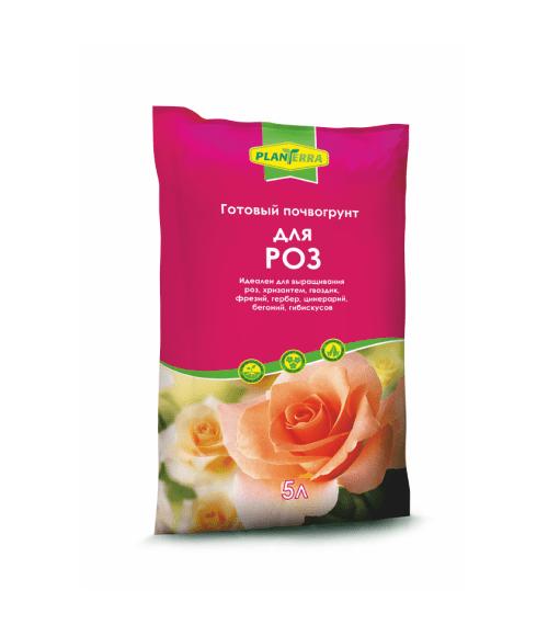 Почвогрунт для роз